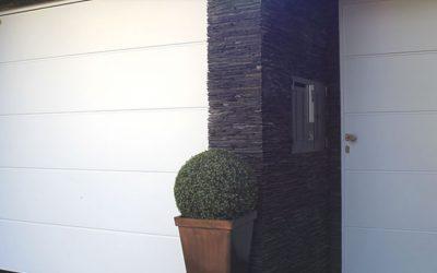 Portoni sezionali con coibentazione termica a Varese: Apri e Chiudi
